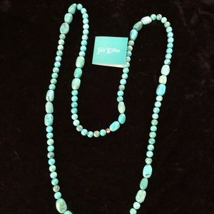 Jay King turquoise beaded necklace